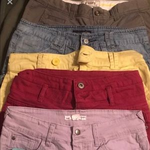 Ladies shorts $8 each , sizes 4,5,7, small